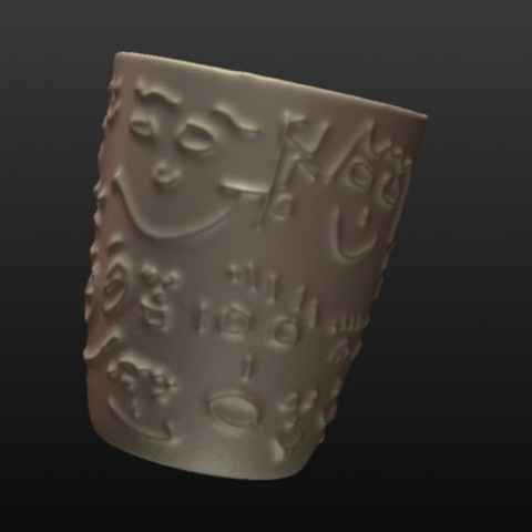 Download free 3D printer templates How To Sculpt A Cup, zootopia3Dprints