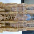 Free 3D printer files Reims Cathedral Kitset, zootopia3Dprints