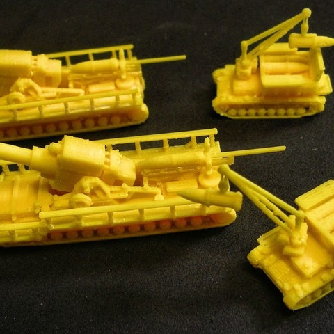 Free 3D model 1:200 Tanks and Vehicles, 1944-45, zootopia3Dprints