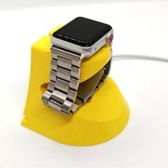 1.jpg Download STL file Apple Watch holder • 3D printable model, Kratzilla