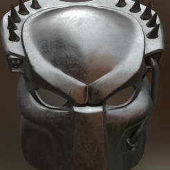 stl file Predator Mask, erimerimeriiim