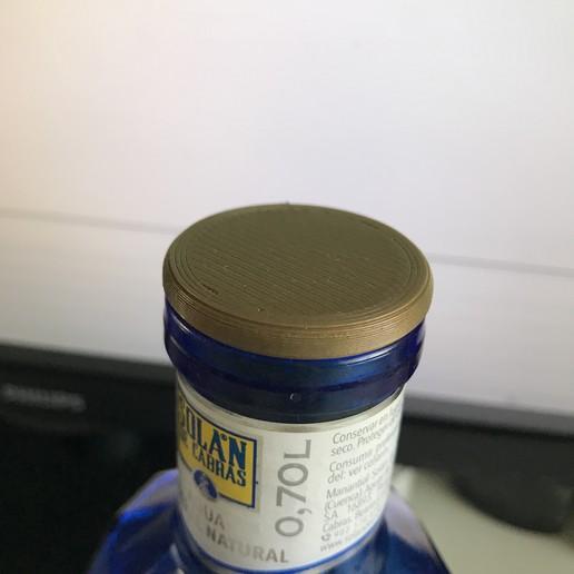 IMG_3502.jpg Download OBJ file Glass bottle stopper • 3D printer model, ncatalasoriano