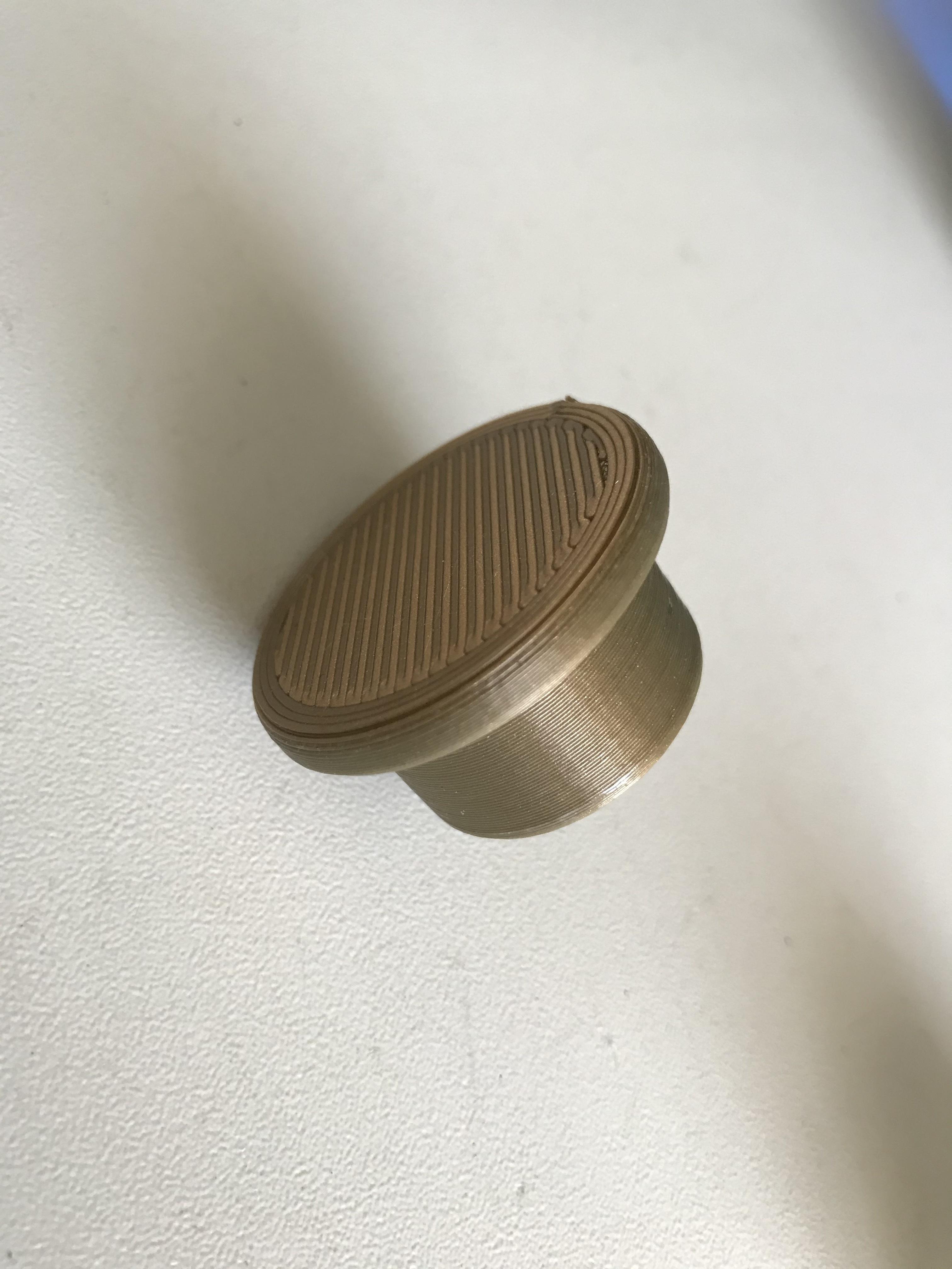 IMG_3505.jpg Download OBJ file Glass bottle stopper • 3D printer model, ncatalasoriano