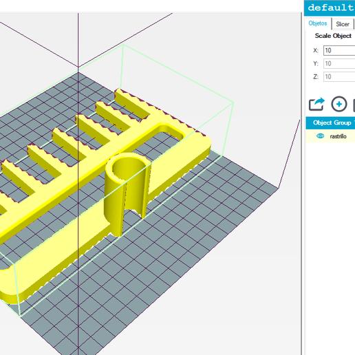 r.PNG Download STL file Rastrillo Golf • 3D print model, ncatalasoriano
