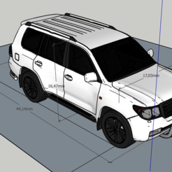 Download free 3D printing models land cruiser, saucedo_a