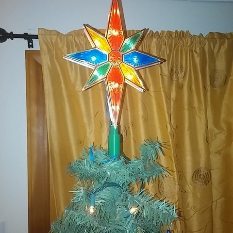Download free STL file Tree Topper Mount, PrintedSolid