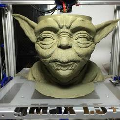 Download free 3D printer designs Yoda Bowl, PrintedSolid