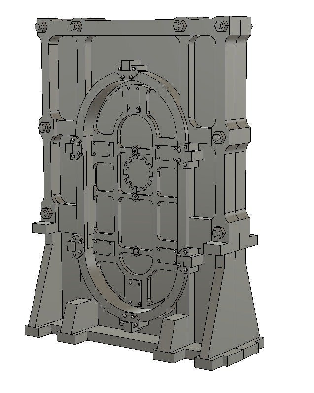 door2.png Download free STL file 28mm Wargame Sci-fi door • 3D printable model, noodledenis