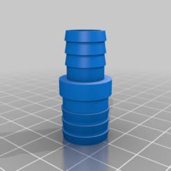 Download free STL file My Customized Hose Connector - Customizer • 3D printer model, nheiserowski