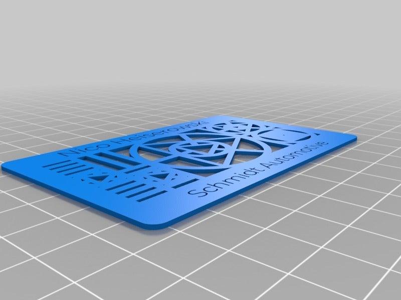 2935013ff00a006b076832dc6eb62289.png Télécharger fichier STL gratuit La carte de visite personnalisée de My Customized Thingiverse • Design imprimable en 3D, nheiserowski