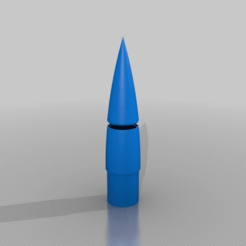 Download free STL file My Customized Nosecone designer • 3D printing template, nheiserowski