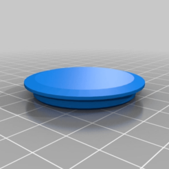 Download free STL file My Customized Cap that Hole • 3D print template, nheiserowski