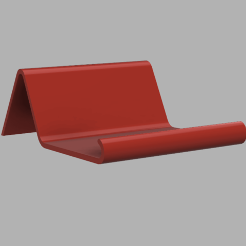 Download 3D printer designs Tablet stand low angle, markdebacker