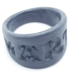 Download 3D printing files MARTA ring personalized carving effect, dmitxe