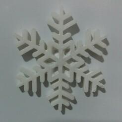 copo-iman-10x1-blanco.jpg Télécharger fichier STL Un flocon de neige pour Magnet • Design à imprimer en 3D, dmitxe