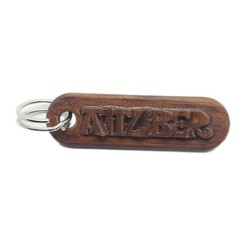 3D printing model Personalized AITZIBER key ring, dmitxe