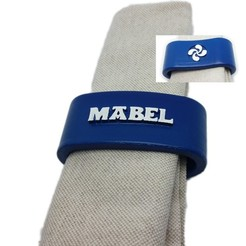 3D printer models MABEL napkin box personalized with lauburu, dmitxe