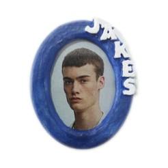 Pf_oval-frente-jakes-azul.jpg Télécharger fichier STL Porte-photo ovale 30X40 JAKES avec aimant ou pied • Design pour impression 3D, dmitxe