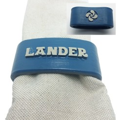 servilletero-LANDER-lauburu-portada.jpg Download STL file LANDER napkin box personalized with lauburu • 3D printer object, dmitxe