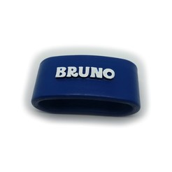 3D printing model Napkin ring BRUNO personalized with lauburu, dmitxe