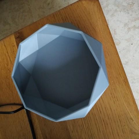Download free 3D printer files Low Poly Bowl, maxence1745