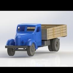 STL file Camion/ Truck SR 101 (steagu rosu), yurikiw