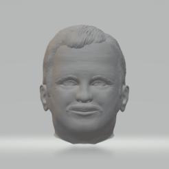 Télécharger fichier STL gratuit La tête d'un homme • Plan à imprimer en 3D, yurikiw