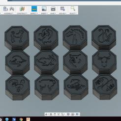 Descargar diseños 3D gratis Jackie Chan Aventuras Talismanes, GeneralOnyx