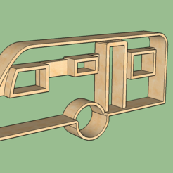 3D print model Caravan Cookie Cutter, 3drot