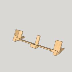 Download 3D model Phone Stand Horizontal, 3drot