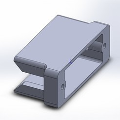 Free STL files Slim HS-40 Servo mount, odiewan
