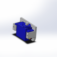 Free 3d printer files HS-55 Servo Mount, odiewan