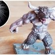 Download free 3D printer designs Minotaur, EvilHippie