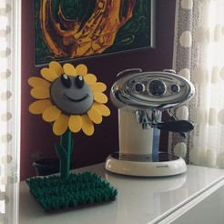 Download free 3D print files Google Home Mini Sunflower, robertocolucci