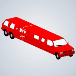 Télécharger fichier impression 3D La limousine de Jeremy Clarkson (Top Gear), elhuff
