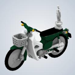 Download 3D printer model James May's motorcycle (Top Gear Vietnam Special), elhuff