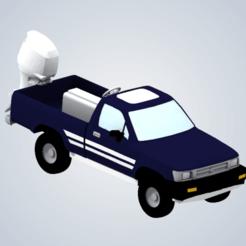 Télécharger plan imprimante 3D Le camion amphibie de Jeremy Clarkson (Top Gear), elhuff