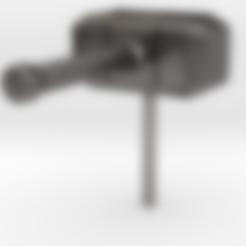 3D printer models Thor's Hammer Earring (Mjölnir), elhuff
