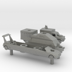 Impresiones 3D Equipo Hammond Top Gear Battleship set, elhuff