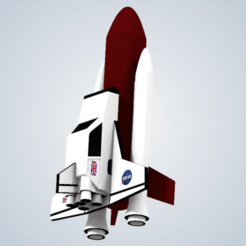 Diseños 3D Reliant Robin Space Shuttle (Top Gear), elhuff