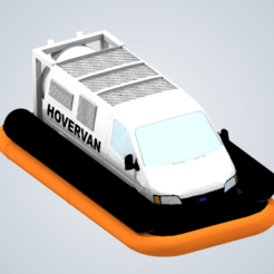 Download 3D printing templates Hover Van (Top Gear), elhuff