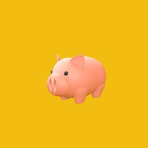 Download free STL files Mini Pig, brenda_cholula
