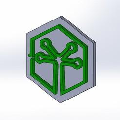 3D printing model mellocarlo logo, mellocarlo