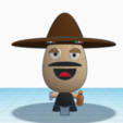 Free STL file Beaner Figure Cartoon, MaistroConstructor