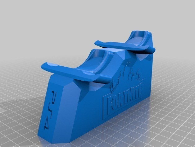 70a361c9761437939d842d25b0744544_preview_featured.jpg Download free STL file Fornite stand ps4 controller • 3D printing template, ramsesturupa