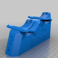 Free 3D printer files Fornite stand ps4 controller, ramsesturupa