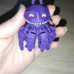 Download free 3D printing designs Ultros Final fantasy key chain, eduardomoralesgarrido