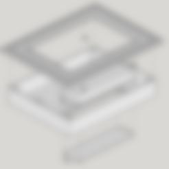 facade rainure.stl Télécharger fichier STL cadre photo pour lithophanie avec insert à piles • Plan pour impression 3D, fabricewou