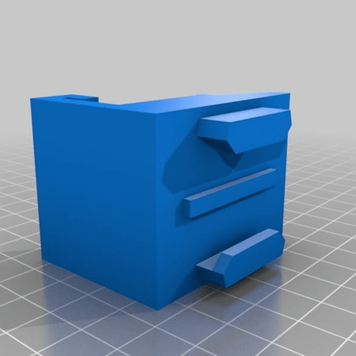 Download free STL file Printrbot Metal Plus Action Cam Mount • 3D printable template, rushmere3d