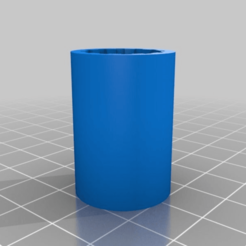 Download free 3D printing models LM12UU to LM8UU converter, rushmere3d